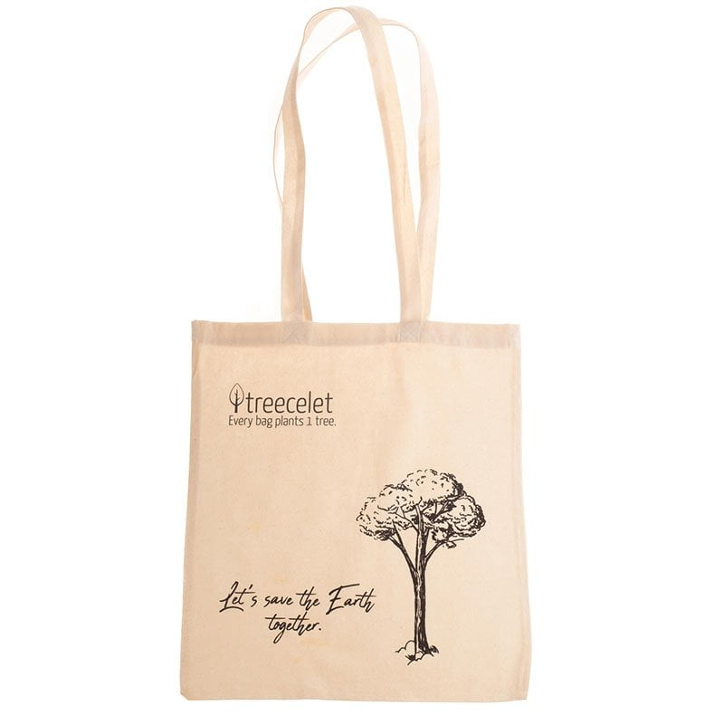 Cotton Bag = 1 Tree